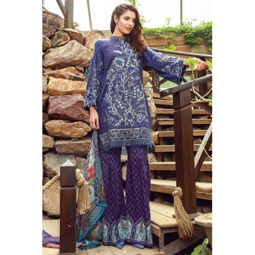 MWU01851 PRINT A DIGITAL PRINTED LAWN UNSTITCHED