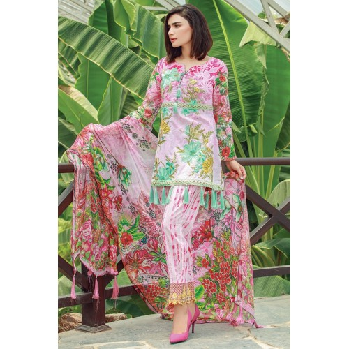 MWU01853 PRINT A DIGITAL PRINTED LAWN UNSTITCHED