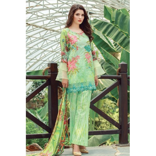 MWU01853 PRINT B DIGITAL PRINTED LAWN UNSTITCHED