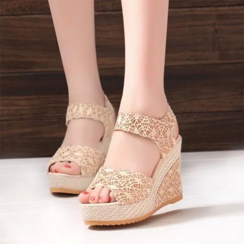 Bonitas Sandalias J venes Zapatos de La Muchacha de las mujeres de la Trenza de