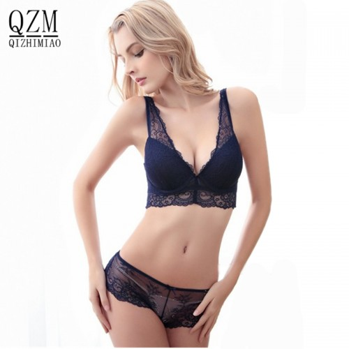 Fashion Bra Set lingerie victoria womens lace underwear pack abdominal curl
