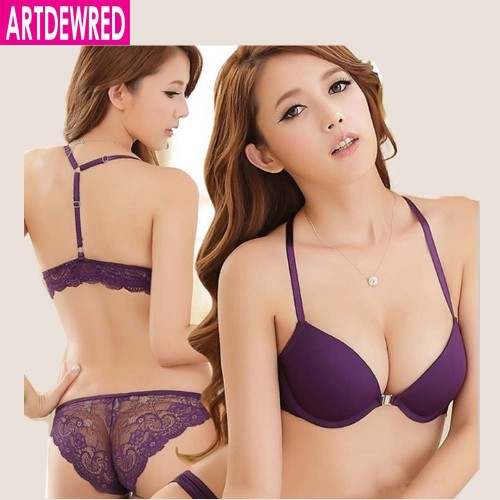 New Luxurious Elegance Vs Bra And Panty Set Y line Underwear Set Female