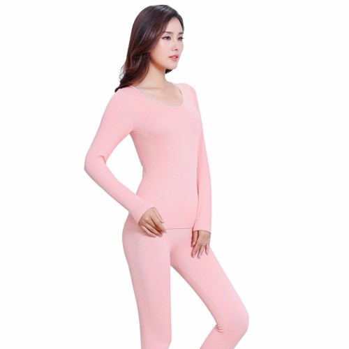 Long John Underwear Knit Hot Sale Warm Top Pants Slim Pajamas Suit Winter