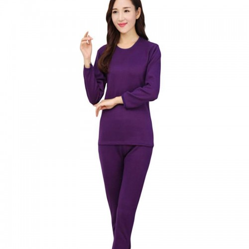 Winter Women Thermal Underwear Sets Section Seamless Sculpting Antibacterial Thick Warm Shaped Menthermal Underwear XSY1103