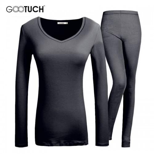 Winter Womens Thermal Underwear Round Neck Long Johns Modal Women Underwear Set Plus Size 5XL 6XL