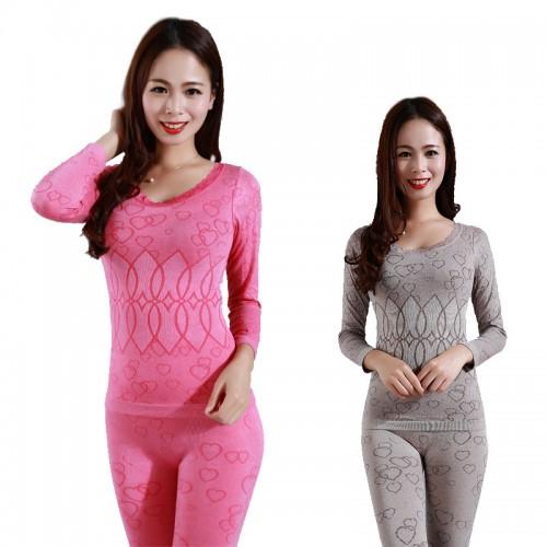 Women Seamless Thermal Underwear Winter Thermal Wear Model Warm Women Long Johns Womans Underwear Body Long