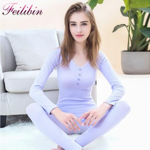 Women Seamless Warm Long Johns Fashion Women Thermal Underwear Slimming Body
