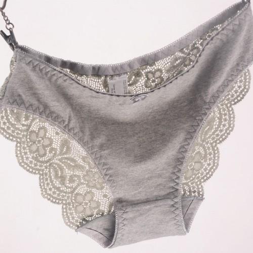 Women s Briefs Viscose Lace Panties Plus Size Transparent Underwear Ladies Intimates