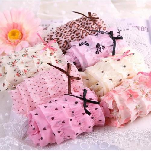 Women s cotton panties Factory single lace panties briefs lace underwear