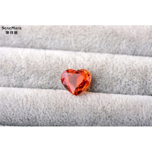 Jewelry Natural Spessartite 5 54ct Garnet Orange Garnet ring surface Perfect scintillation ring surface