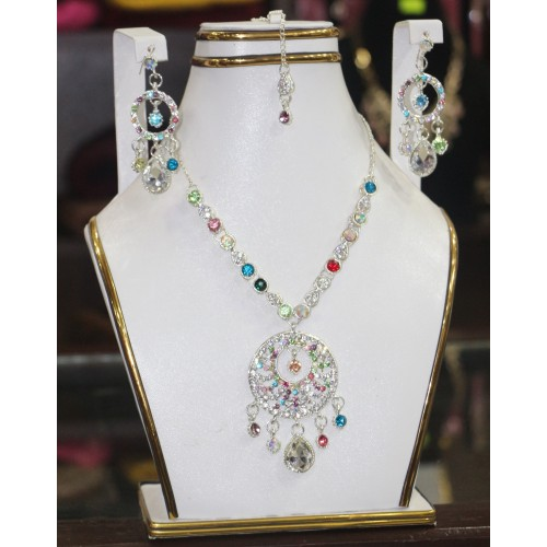 Trendy traditional jewelry set 28