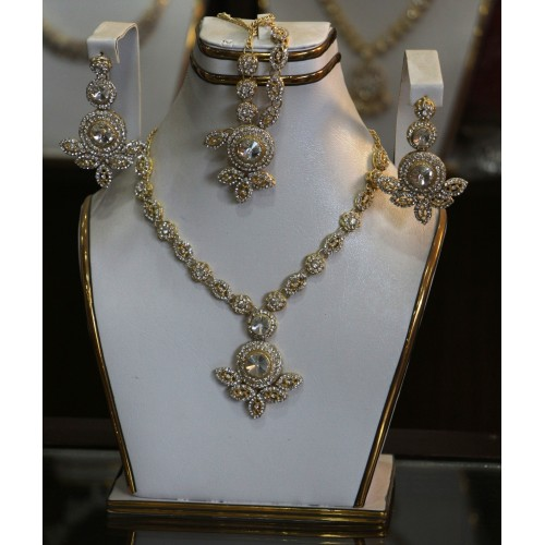 Trendy traditional jewelry set 6