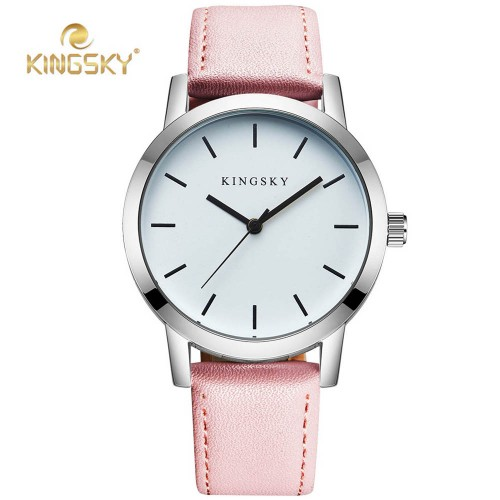 Hot Sell Women Watches KINGSKY Ladies Quartz Watch 2017 Brand Fashion Women s Leather Band Causal