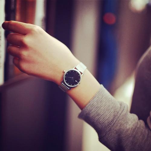 JIS Brand High quality Quartz watches Stainless Steel Wristwatches Fashion Women Watch Ladies Wrist Men casual