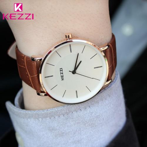 KEZZI Woman Leather Strap Quartz Watches Fashion Formal Analog Japan Movement Waterproof Ladies Dress Watch Clock.jpg 640x640