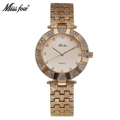 Miss Fox Women Watch Luxury Brand Fashion Casual Ladies Gold Watch Quartz Simple Clock Relogio Feminino.jpg 640x640
