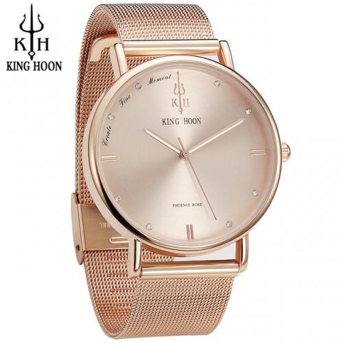 Origina KINGHOON Women Watches Ultra Thin Stainless Steel Quartz Watch Bracelet Rhinestones wrist Watch Women montre.jpg 640x640