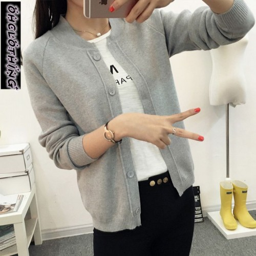 OHCLOTHING New spring summe female knit cardigan sweater coat short female a little shawl knitted