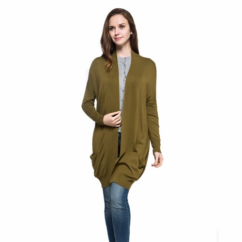 Spring Autumn Style Women Solid Color Long Style Plus Size Casual Knitted Cardigan Sweater Oversize Scarf