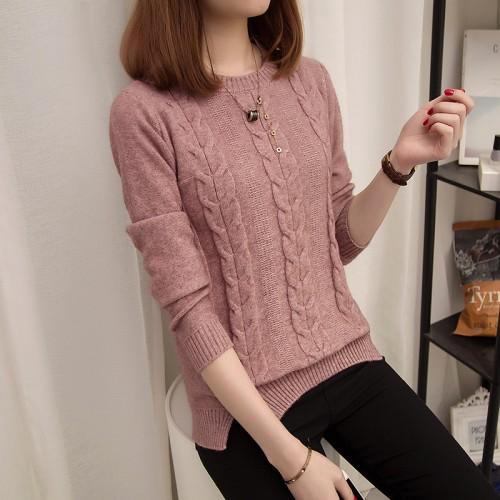 5657 the new twist sweater 43 split hem