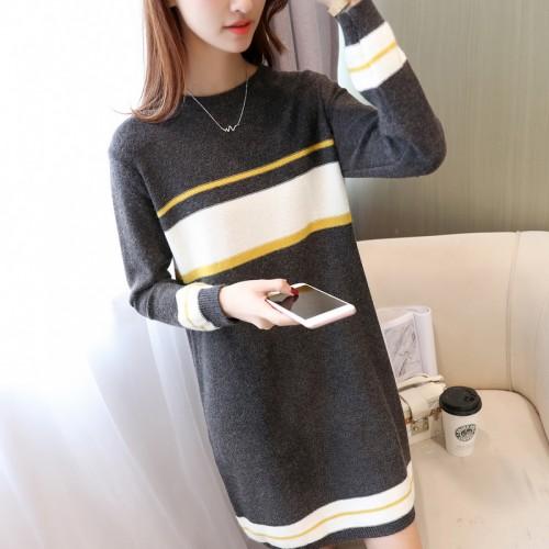 5810 new color stripe sweater 55 shot clip