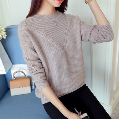 5852 Korean autumn new women s sweater 51