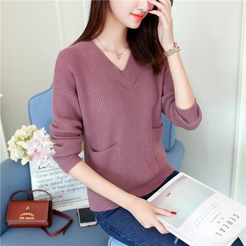 7286 Korean autumn new women s sweater 43