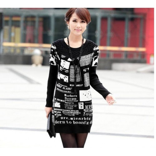 New Grow a sweater loose big code to restore ancient ways knitted sweater wholesale sweater