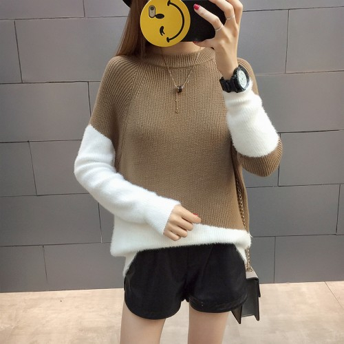 The new film 5666 rabbit hair color matching sweater 40 3 ranked no 3 on the