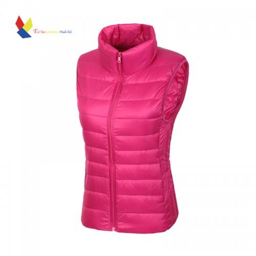 Winter Women Vest Duck Down Jacket