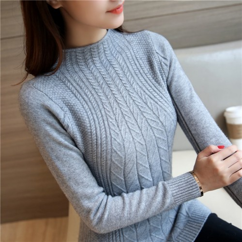 6613 new winter ladies knitted shirt 34