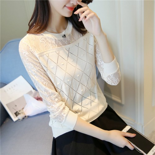HAO HE SHEN 7197 real women s new lace knitted fabric 27 4