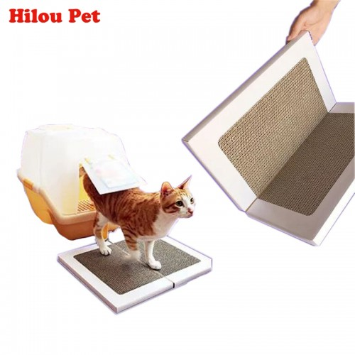 Card Board Scratcher Toy Foldable Cat