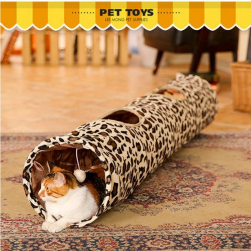 Cats Tunnel Toys Home Folding Training Tunnel Cats