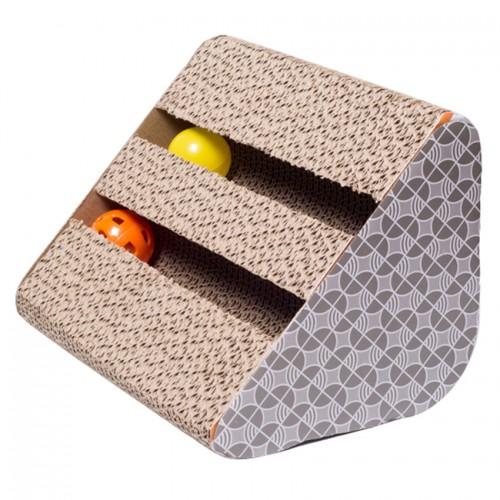 Scratch Board Pad Mat Ball Scratcher Bed Claws